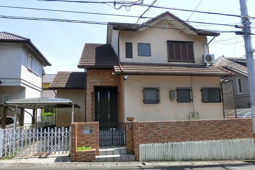 神戸市西区 U様邸の施工前の様子1