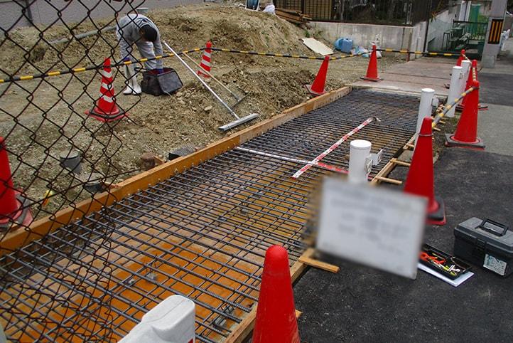 神戸市垂水区 N様邸の施工中の様子9