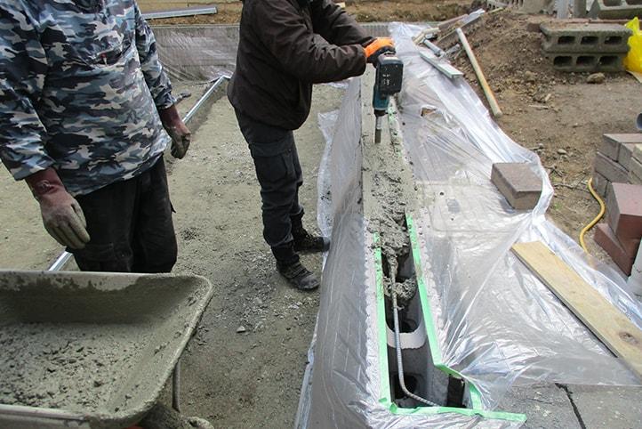神戸市西区 F様邸の施工中写真28