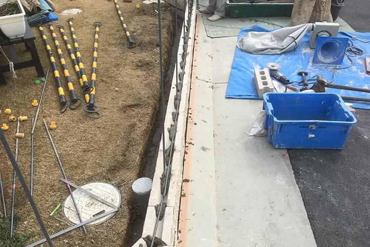 神戸市西区 S様邸の施工中の様子10