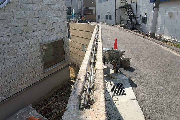 神戸市西区 S様邸の施工中の様子18