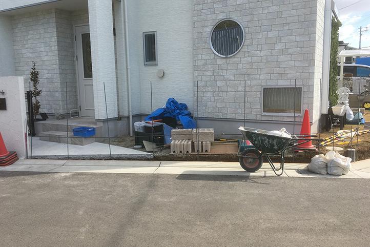 神戸市西区 S様邸の施工中の様子2
