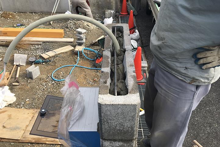 神戸市北区 S様邸の施工中の様子10
