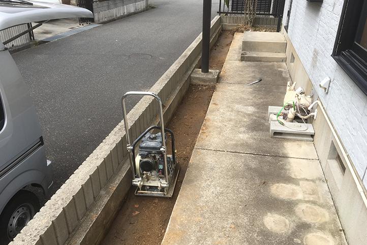 神戸市北区 S様邸の施工中の様子5