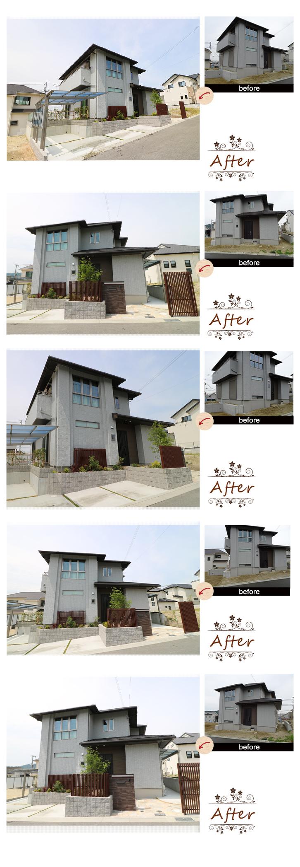 神戸市須磨区 M様邸の完成写真1