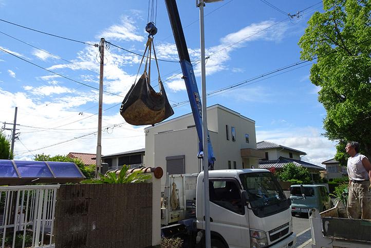 神戸市須磨区 K様邸の施工中の様子5