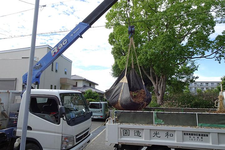 神戸市須磨区 K様邸の施工中の様子7