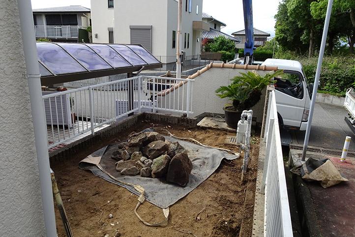神戸市須磨区 K様邸の施工中の様子8