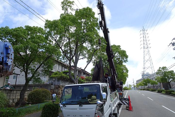 神戸市須磨区 K様邸の施工中の様子14