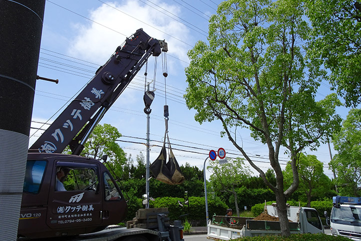 神戸市須磨区 K様邸の施工中の様子15