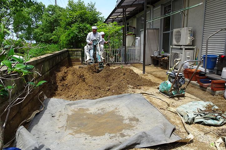 神戸市須磨区 K様邸の施工中の様子16