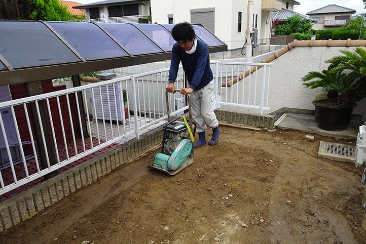神戸市須磨区 K様邸の施工中の様子17