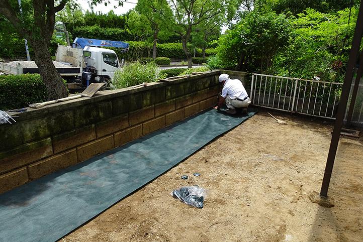神戸市須磨区 K様邸の施工中の様子18