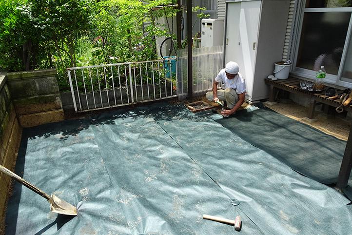 神戸市須磨区 K様邸の施工中の様子19