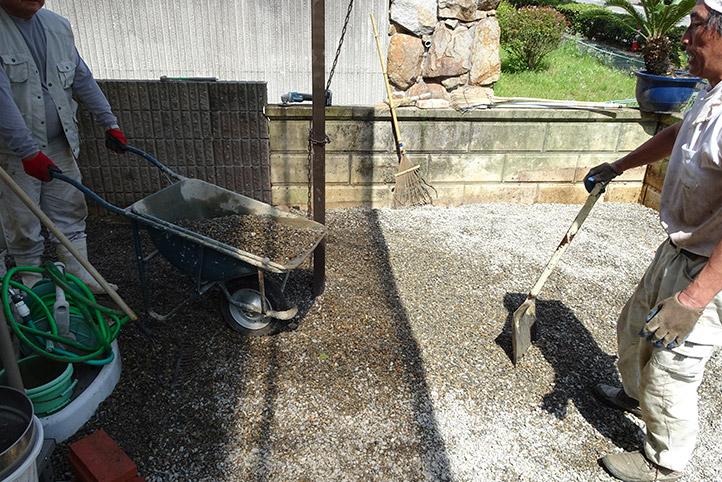 神戸市須磨区 K様邸の施工中の様子24