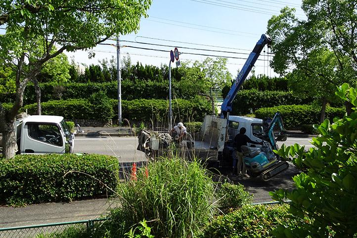 神戸市須磨区 K様邸の施工中の様子27