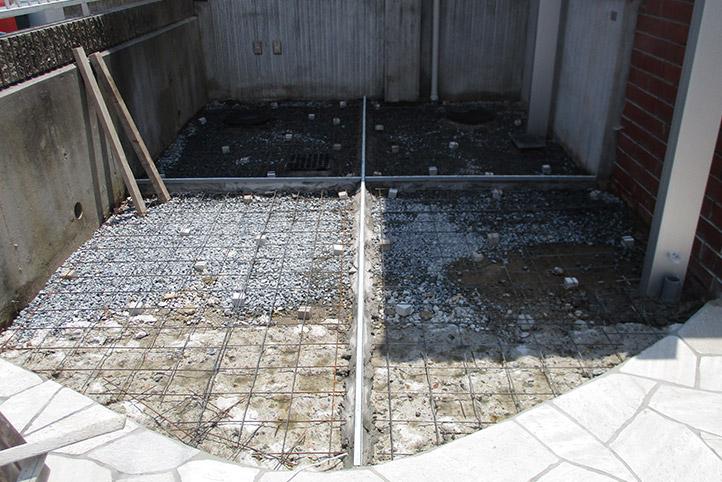 神戸市須磨区 K様邸の施工中の様子30