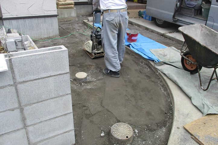 神戸市垂水区 F様邸の施工中の様子16