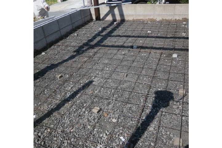 神戸市垂水区 F様邸の施工中の様子18