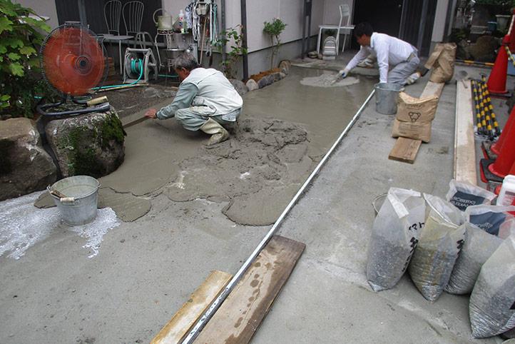 神戸市西区N様邸の施工中の様子2