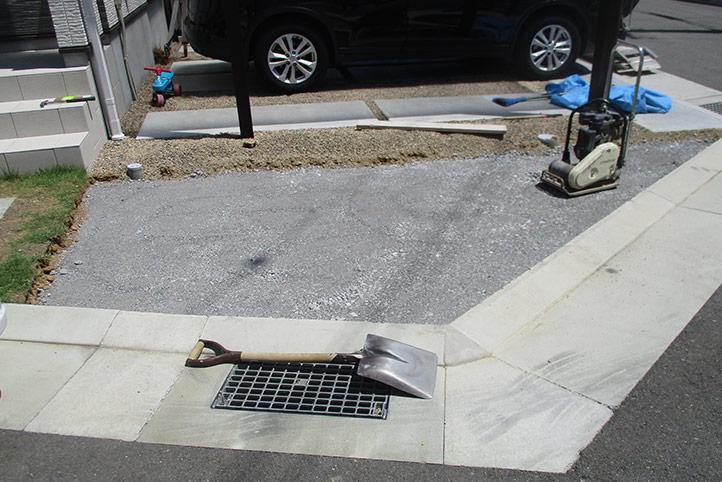 神戸市垂水区 M様邸の施工中の様子1
