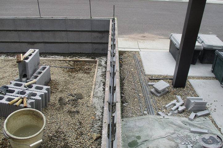 神戸市垂水区 M様邸の施工中の様子7