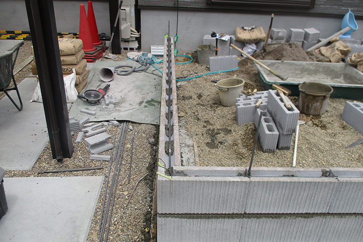 神戸市垂水区 M様邸の施工中の様子10