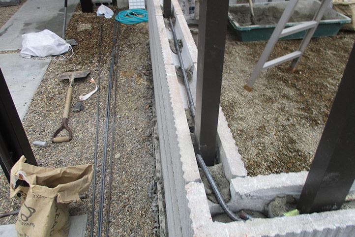 神戸市垂水区 M様邸の施工中の様子12