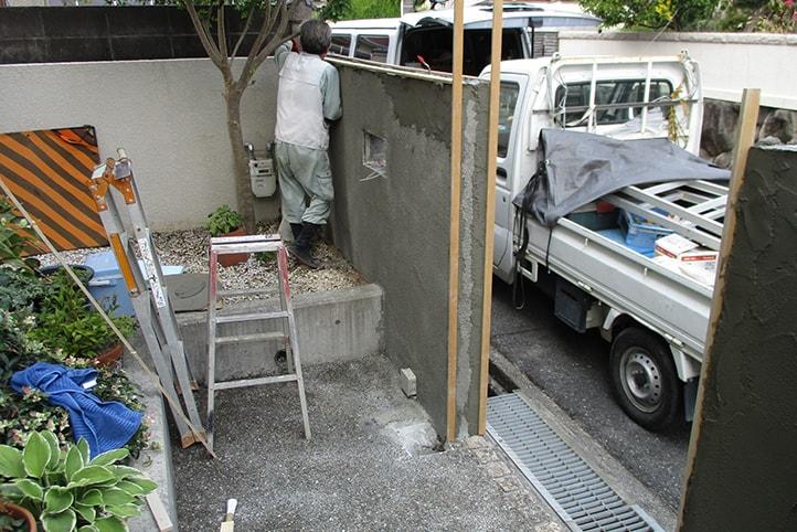 神戸市須磨区 S様邸の施工中の様子9