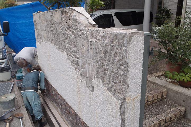 神戸市須磨区 S様邸の施工中の様子13