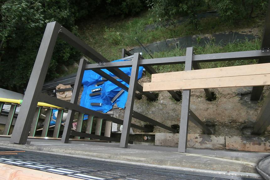 神戸市垂水区 T様邸の施工中の様子11