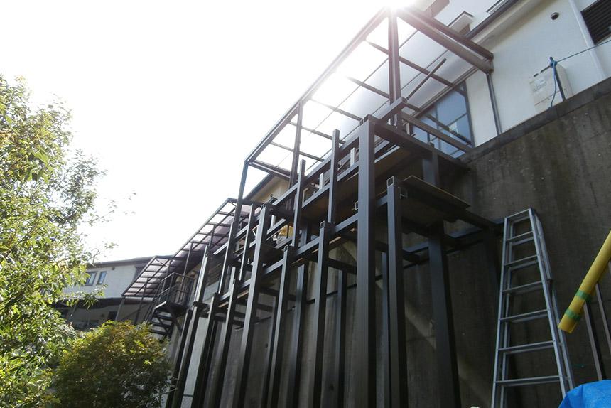 神戸市垂水区 T様邸の施工中の様子20