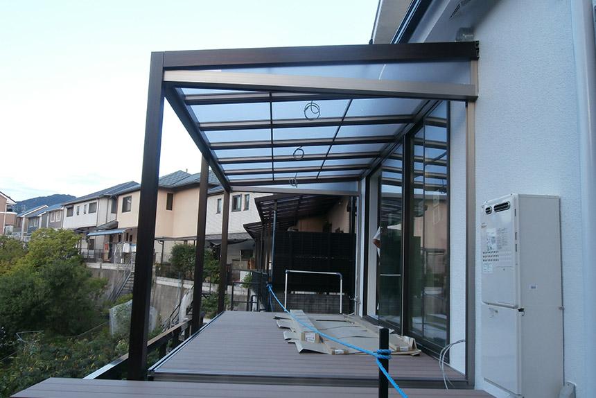 神戸市垂水区 T様邸の施工中の様子23