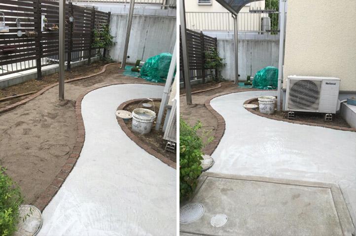 神戸市垂水区 H様邸の施工中の様子7