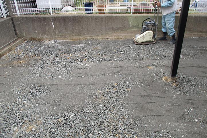 神戸市西区F様邸の施工中の様子6