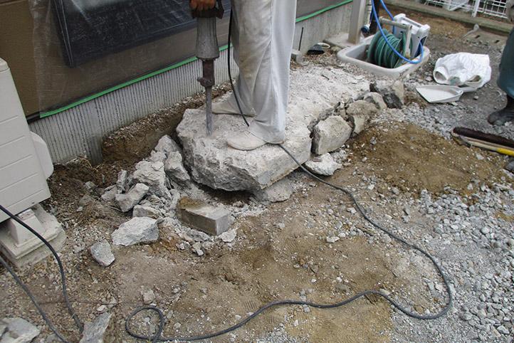 神戸市西区F様邸の施工中の様子7