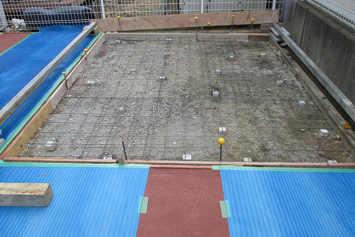 神戸市西区F様邸の施工中の様子17