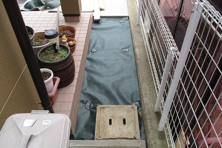神戸市西区F様邸の施工中の様子20