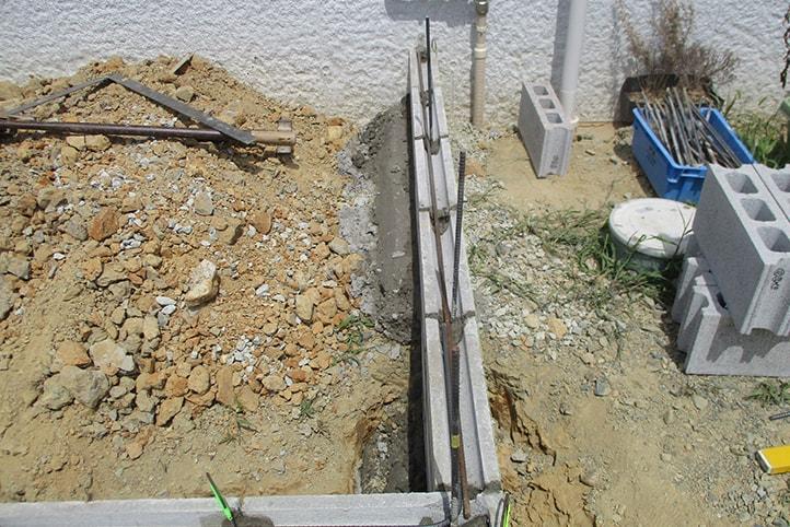 神戸市垂水区 K様邸の施工中の様子5