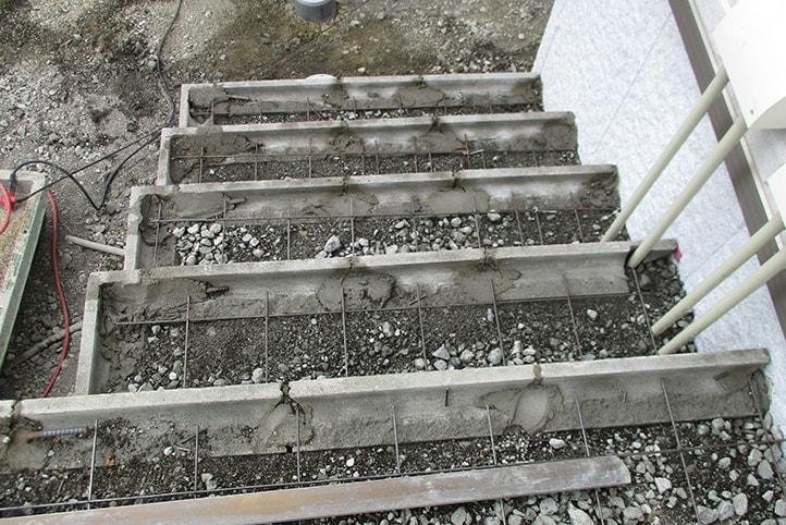 神戸市垂水区 K様邸の施工中の様子12