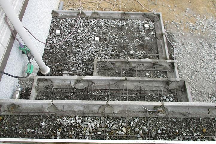 神戸市垂水区 K様邸の施工中の様子13