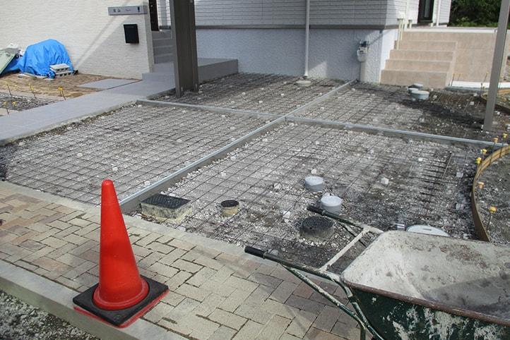 神戸市垂水区 K様邸の施工中の様子16
