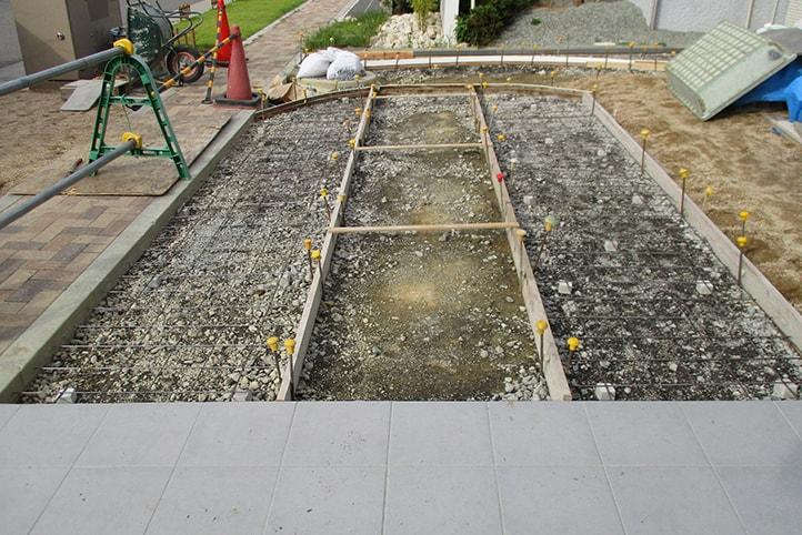 神戸市垂水区 K様邸の施工中の様子17