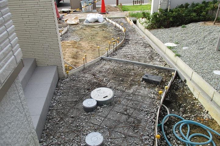 神戸市垂水区 K様邸の施工中の様子19