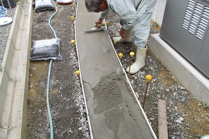 神戸市垂水区 K様邸の施工中の様子25