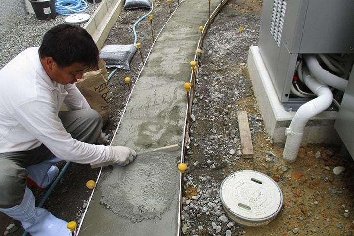 神戸市垂水区 K様邸の施工中の様子26