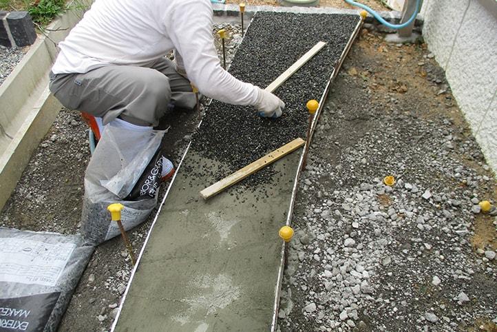 神戸市垂水区 K様邸の施工中の様子27