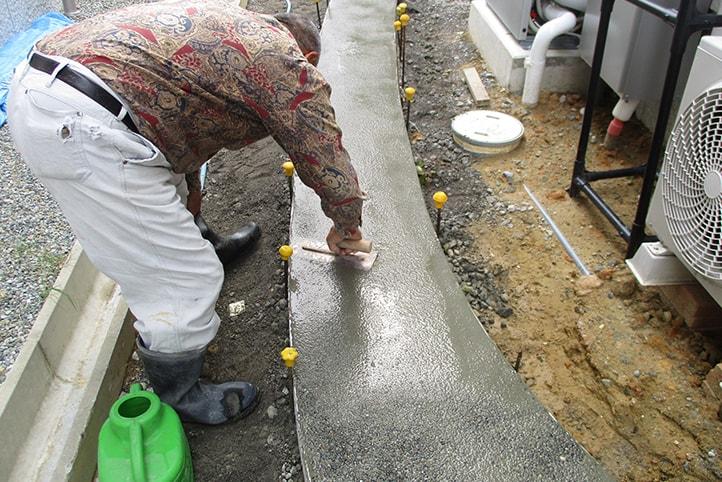 神戸市垂水区 K様邸の施工中の様子30