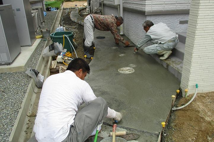 神戸市垂水区 K様邸の施工中の様子31