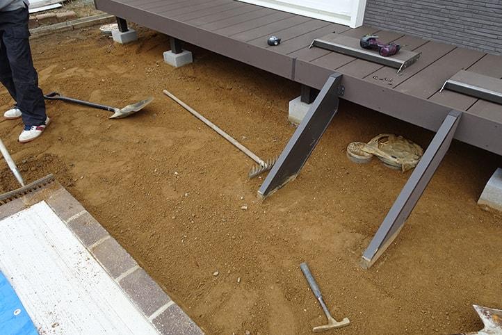 神戸市西区H様邸の施工中の様子5